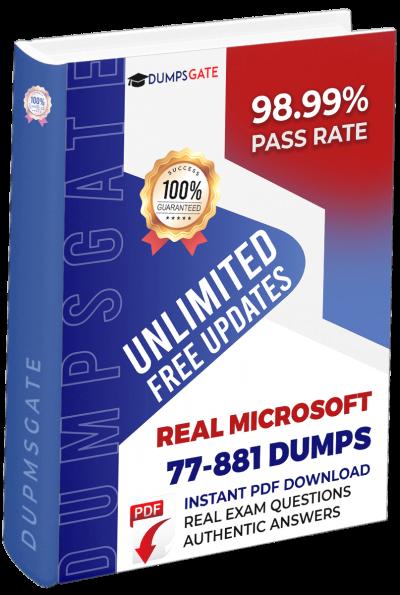 77-881 Exam Dumps